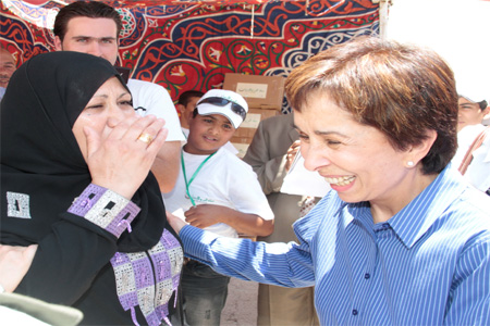 Princess Basma in Irbid with Goodwill Campaign<br/><br/><font size=1>30 June, 2012</font>