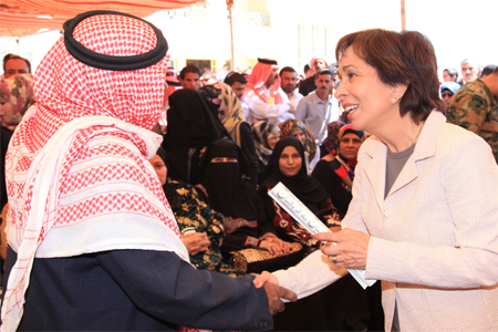 Princess Basma Provides Support to Mafraq Districts Through Goodwill Campaign<br/><br/><font size=1>08 September, 2013</font>